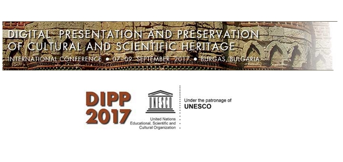 DiPP 2017: Digital Presentation and Preservation of Cultural and Scientific Heritage