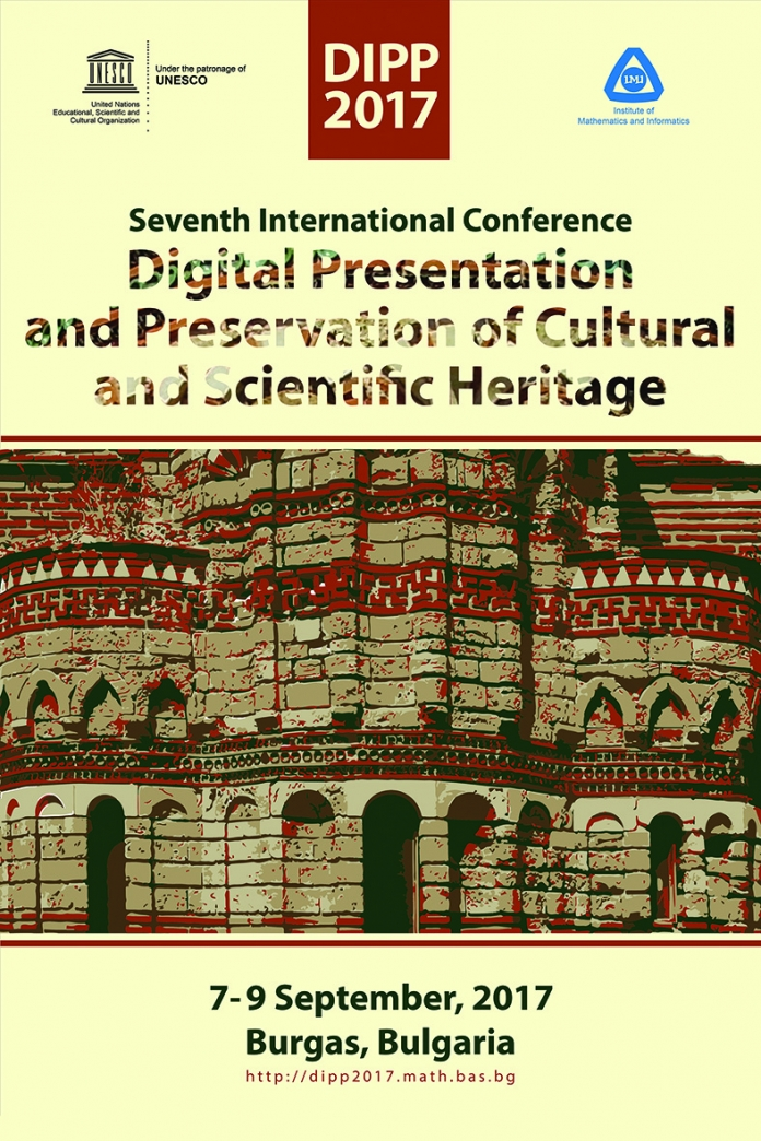 Digital Presentation and Preservation of Cultural and Scientific Heritage ─ DiPP2017